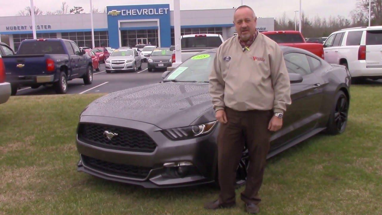 2015 Ford Mustang Turbo Hubert Vester Chevrolet Wilson, NC