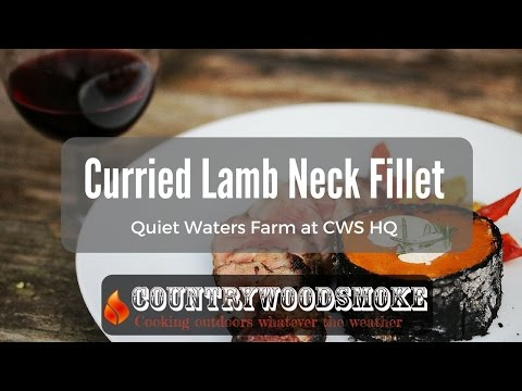 Curried Lamb Neck Fillet With Ember Cooked Squash