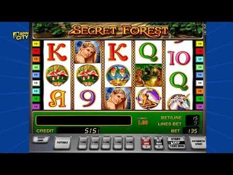 Игровой автомат secret forest описание