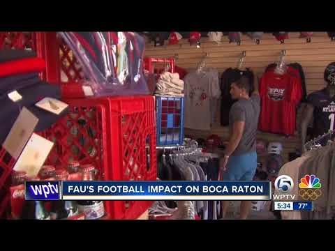 FAU's  football impact on Boca Raton