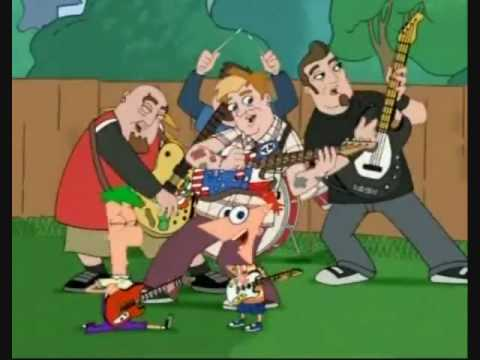 Bowling For Soup  Today Is Gonna Be A Great Day Phineas & Ferb Full Theme Song & Download Link