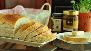 Simple Home Made Bread - Soft And Delicious! For Beginners!