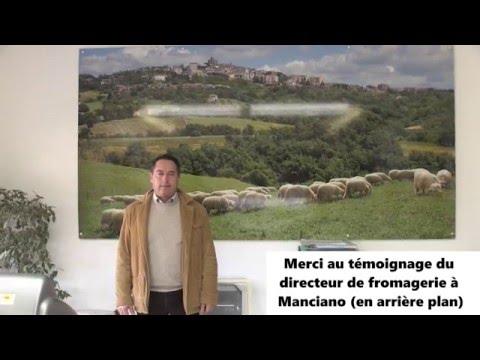 Interview d'un directeur de fromagerie Italienne