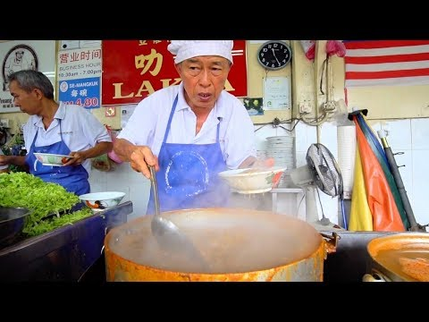 World's BEST LAKSA is in Malaysia | MALAYSIAN STREET FOOD in Penang - BEST Street Food in Malaysia
