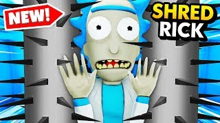 DESTROYING RICK With A HUGE SECRET SHREDDER (Rick and Morty: Virtual Rick-Ality Gameplay)