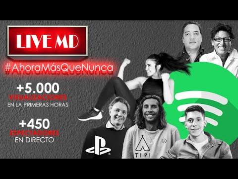 🔴 LIVE MD. #AhoraMásQueNunca Con #PatryJordan, #LuisGiménez, #PlayStation O #Spotify