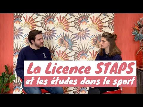 La Licence STAPS et les formations dans le Sport - Thotis x Anestaps
