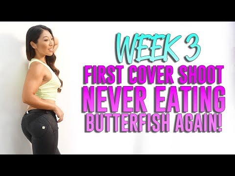 WEEK 3 - First Cover Shoot   Refeed vs Cheatmeal   NEVER Eating Butterfish AGAIN!