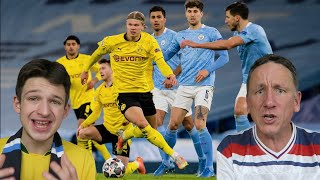 MAN CITY 2-1 DORTMUND HIGHLIGHTS REACTION - Champions League