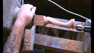 Andy Lodge Rpt, How To Make A Cabriole Leg Part 2