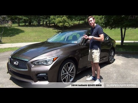 Review 2014 Infiniti Q50S AWD