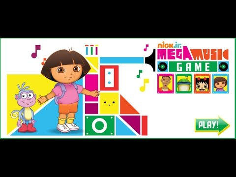 Mega Music Game Nick Jr Game For Kids and Baby - YouTube