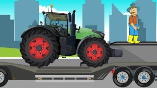 The adventures of #farmers in a green tractor | Farm Work | Przygody Rolników w zielonym Ciągniku