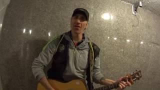 Уличный музыкант города Сочи