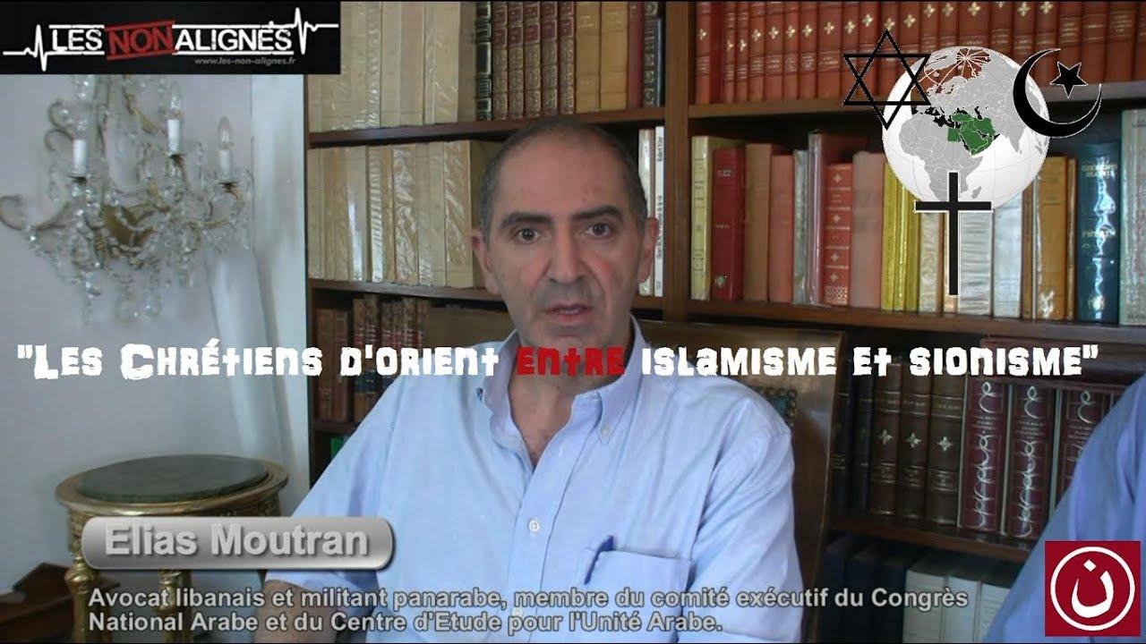 Chrétiens d'Orient entre islamisme et sionisme.