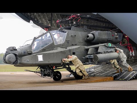 Video de um poderoso e avançado helicóptero de combate