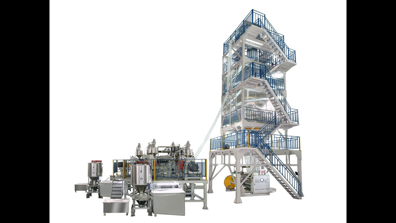 POF NEW MACHINE,Polyolefin Shrink Film Production line 5 ...