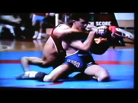 John Smith vs Glenn Goodman, 1990 World Team Trials wrestling (Freestyle)