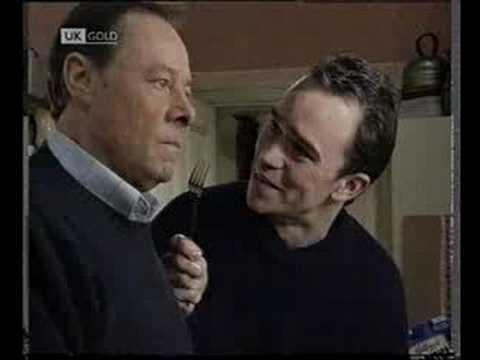 Eastenders  Mark and Arthur argue