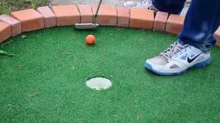 мини-гольф, одна дорожка, Pitch and Putt(putter)