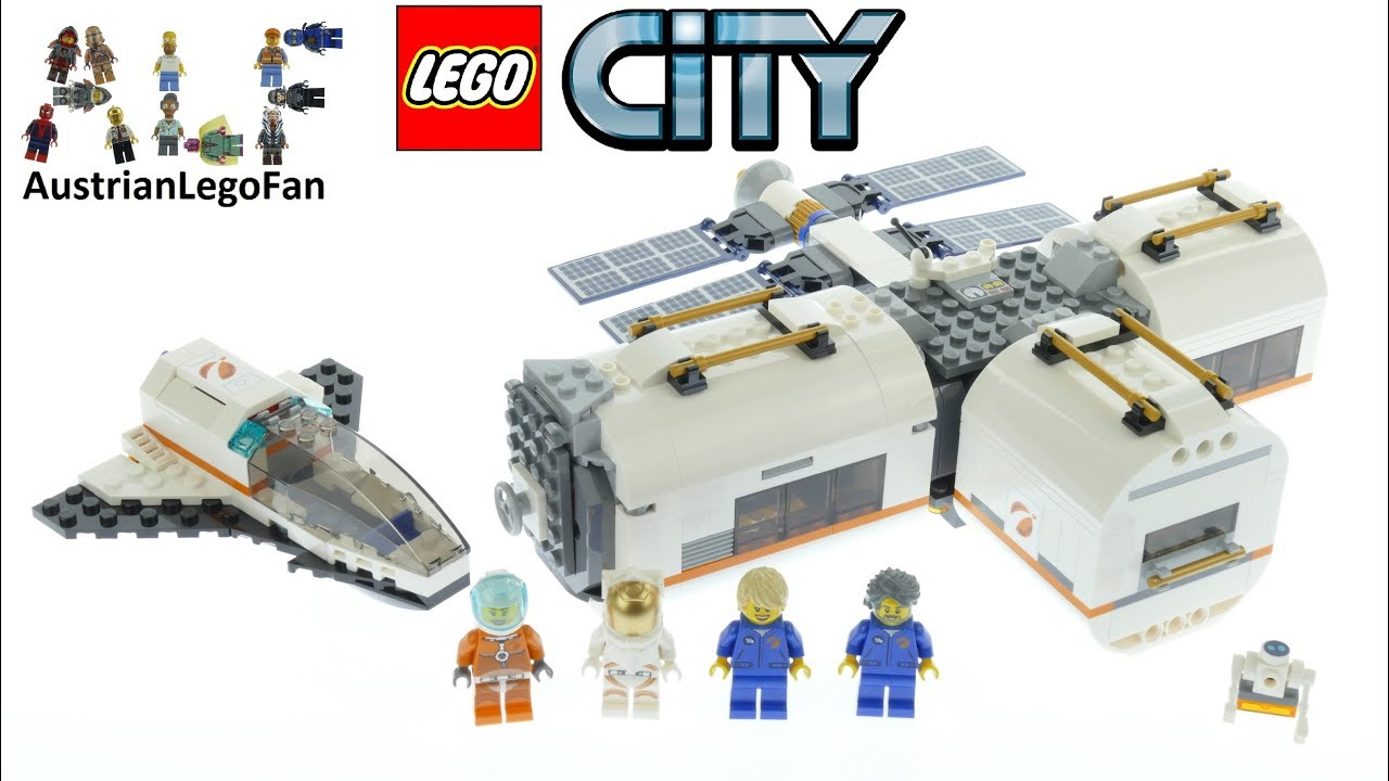 lego city lunar space station amazon - photo #6