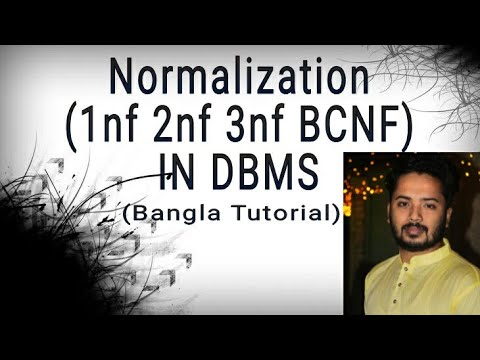 Normalization 1nf 2nf 3nf bcnf in DBMS | Bangla tutorial ...
