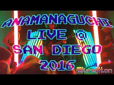 Anamanaguchi Live @ San Diego 2016