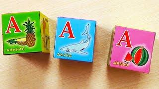 Азбука из кубиков для детей Буквы русского алфавита для самых маленьких
