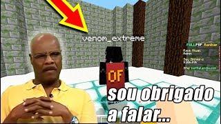 BANINDO HACKERS no MEU SERVIDOR DE FULLPVP!! Minecraft