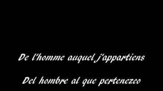 Edith Piaf  La vie en rose subtitulos español frances