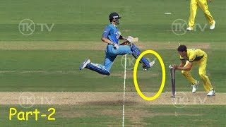 Most Stupid Ways to Get RUNOUT In Cricket - Part 2 - LOL - Don't Miss!