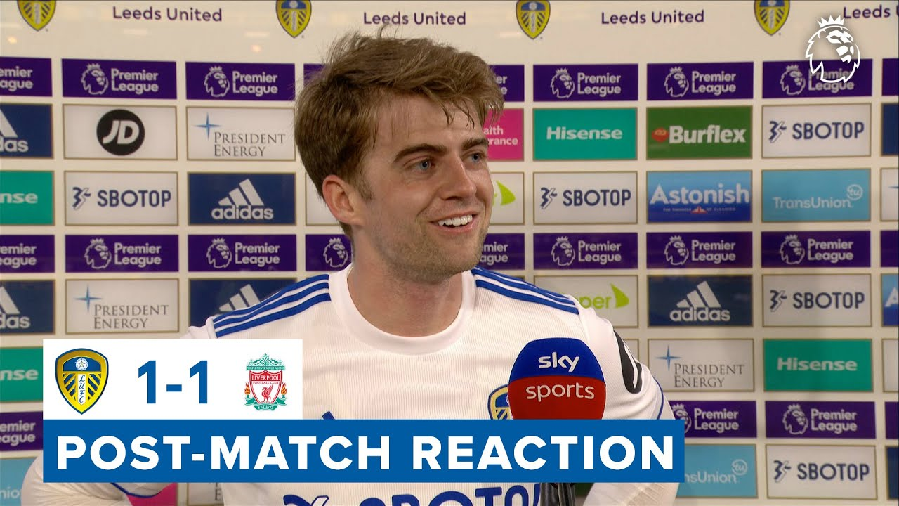 "Download ""I felt we should have won""   Patrick Bamford reaction   Leeds United 1-1 Liverpool   Premier League"