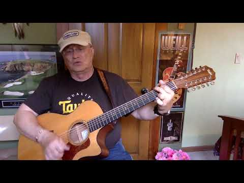 348b -  Sugar Mountain -  Neil Young cover -  Vocal -  Acoustic guitar & chords