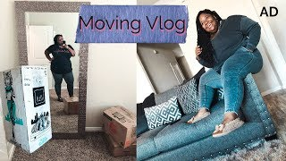 Moving into my first House!🏡 Plus Size Vlog | AD