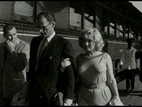 "Footage of Marilyn Monroe And Arthur Miller - ""Feeling Of Security"""