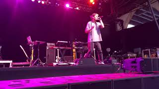 Jeremy Zucker - Talk is overrated  (Live at Summerfest 2018)