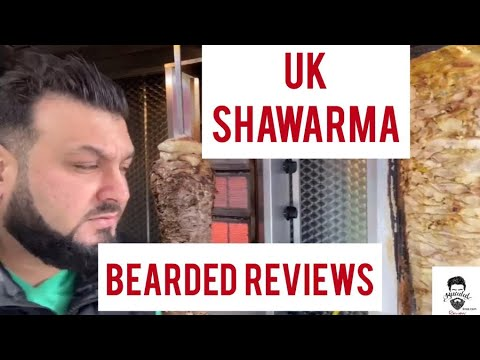 UK Shawarma I West Bromwich | Is This The Best And Cheapest Shawarma In Town | Bearded Reviews Broz