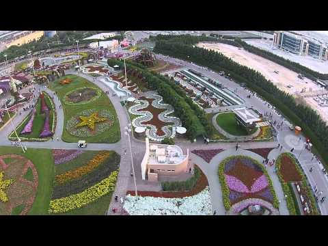 Dubai Land Miracle Garden part 1