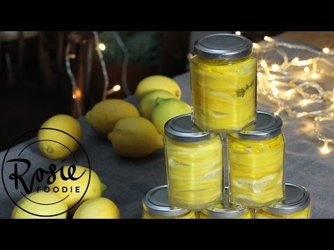 Unbelievably Easy Preserved Lemons | Rosie Foodie