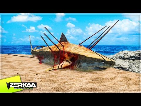 I KILLED A SHARK! (Stranded Deep #7)