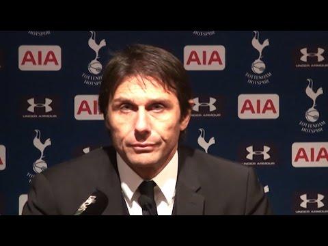 Tottenham 2-0 Chelsea - Antonio Conte Full Post Match Press Conference