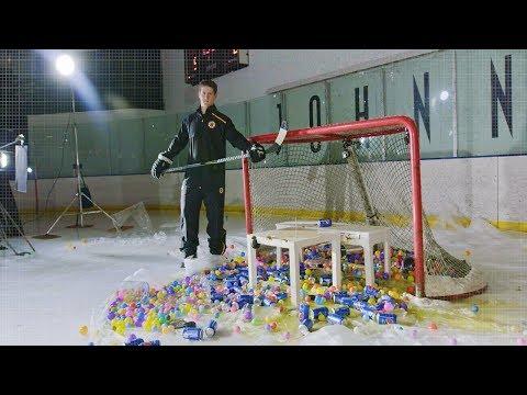 Bruins Defenseman Torey Krug Breaks Stuff In Slow Motion
