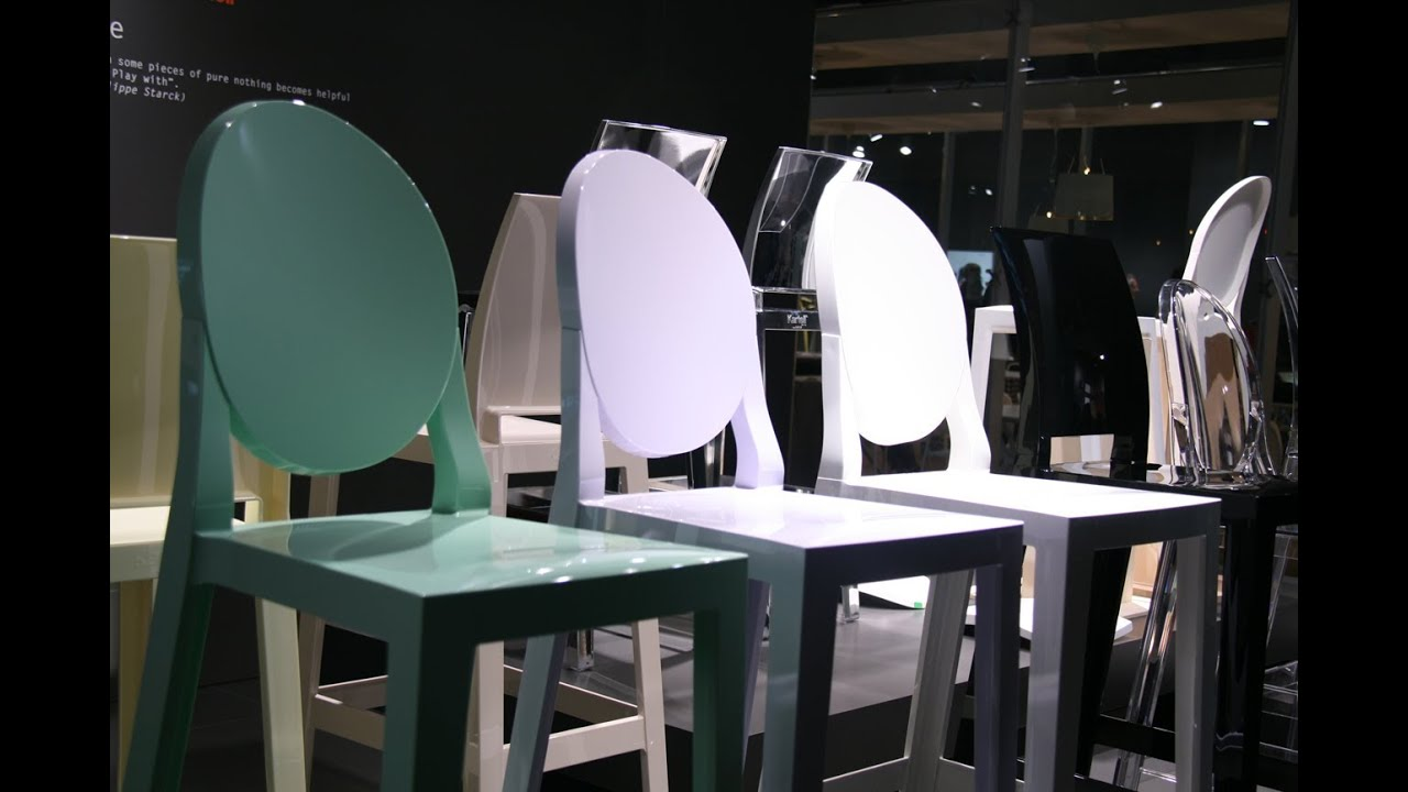Kartell one more one more please stools ice interiors youtube
