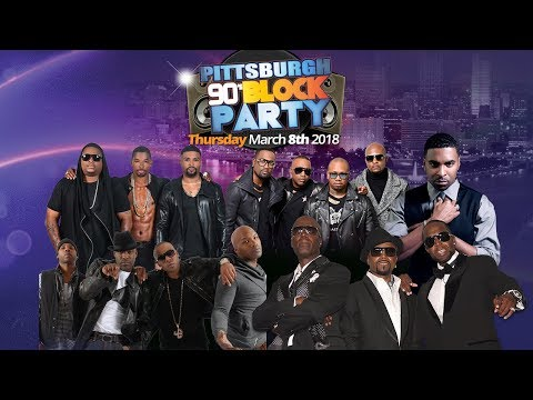 Pittsburgh 90's Block Party - March 8th - Petersen Event Center