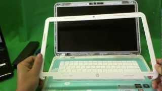 Procedimiento de reemplazo de pantalla para ordenador portátil HP Pavilion G6