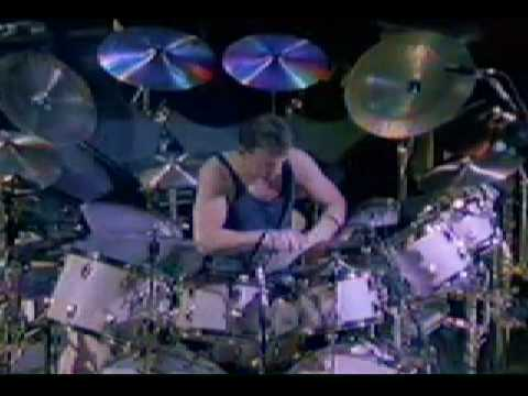 Rush  YYZ  With amazing Neil Peart Drum Solo