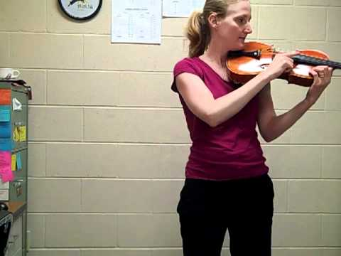 Open D and Open A Viola