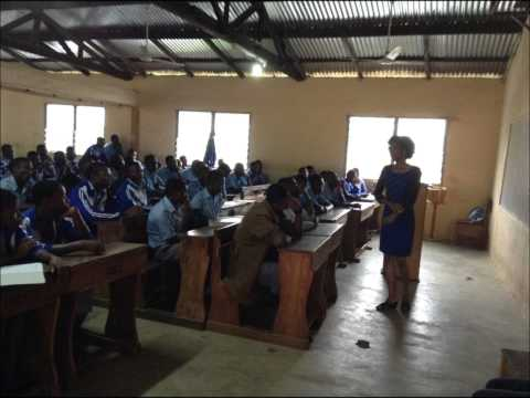Leanon Foundation Summer Project in SHS  Volta Region & Accra, Ghana West Africa 2014