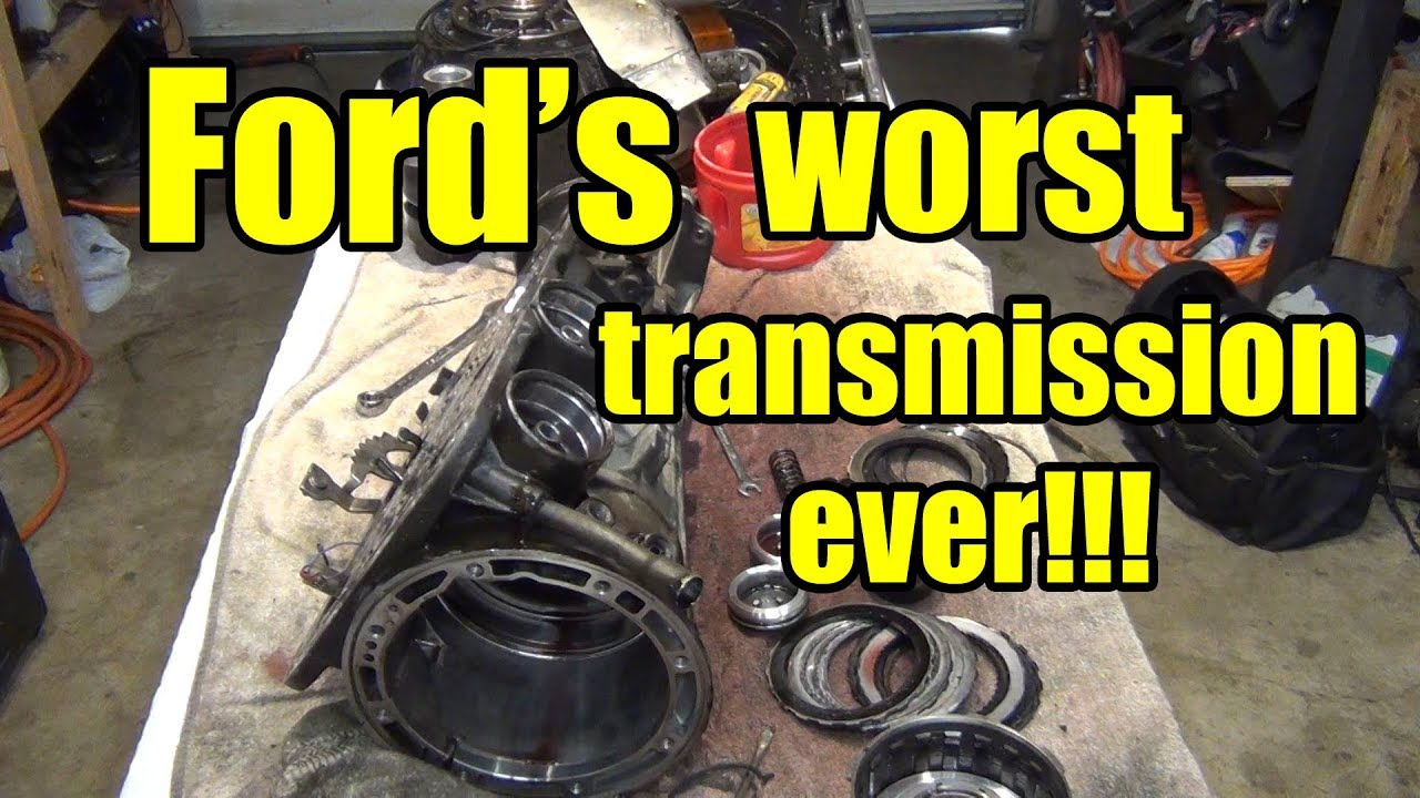 Ford's Worst Transmission! | A4LD Transmission Teardown!!!