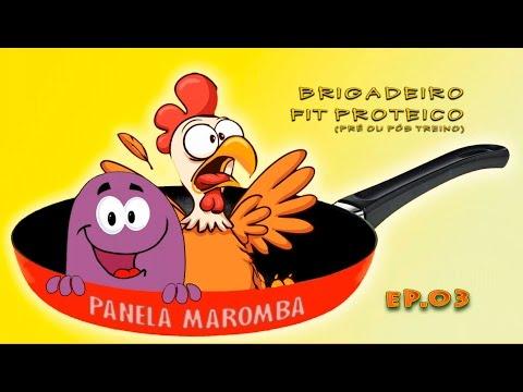 #EP 03 - Brigadeiro Fitness (Pré Treino e Pós Treino)
